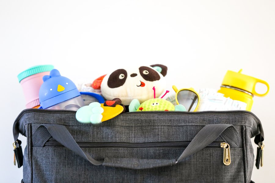 Whats in My Twin Diaper Bag // Salty Canary