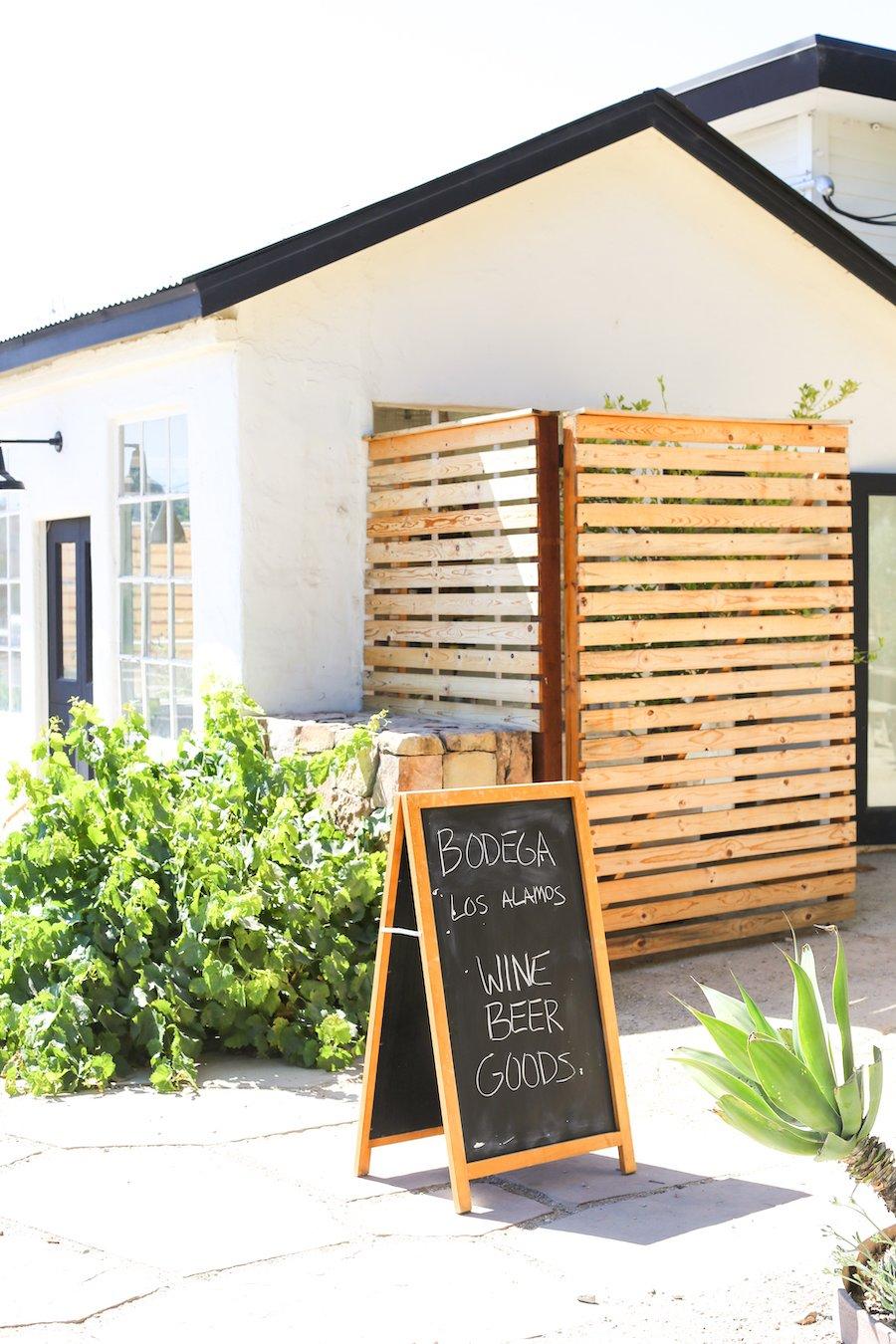 Bodega Wine Bar in Los Alamos, California // Salty Canary