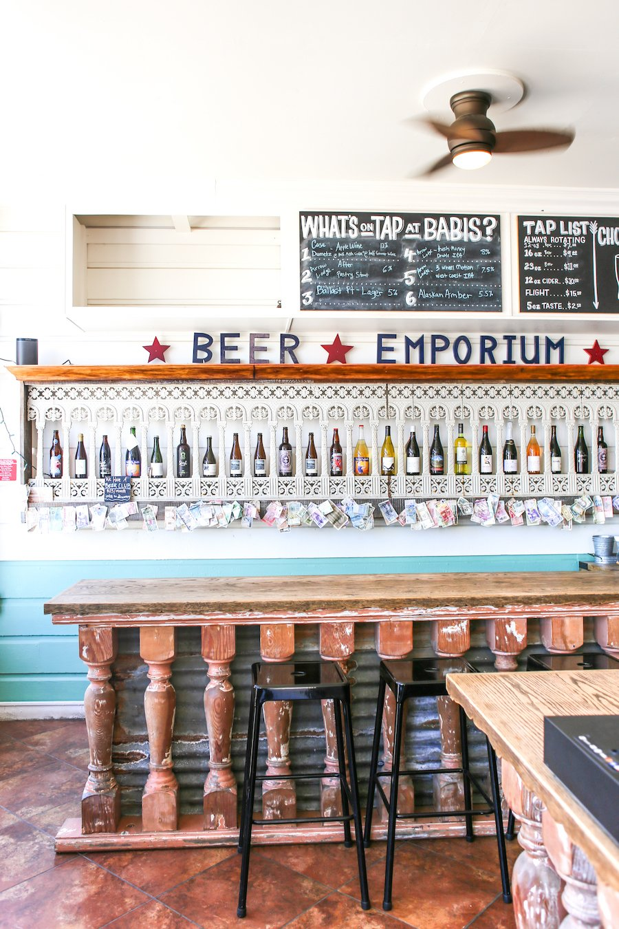 Casa Dumetz and Babi's Beer Emporium in Los Alamos, California // Salty Canary