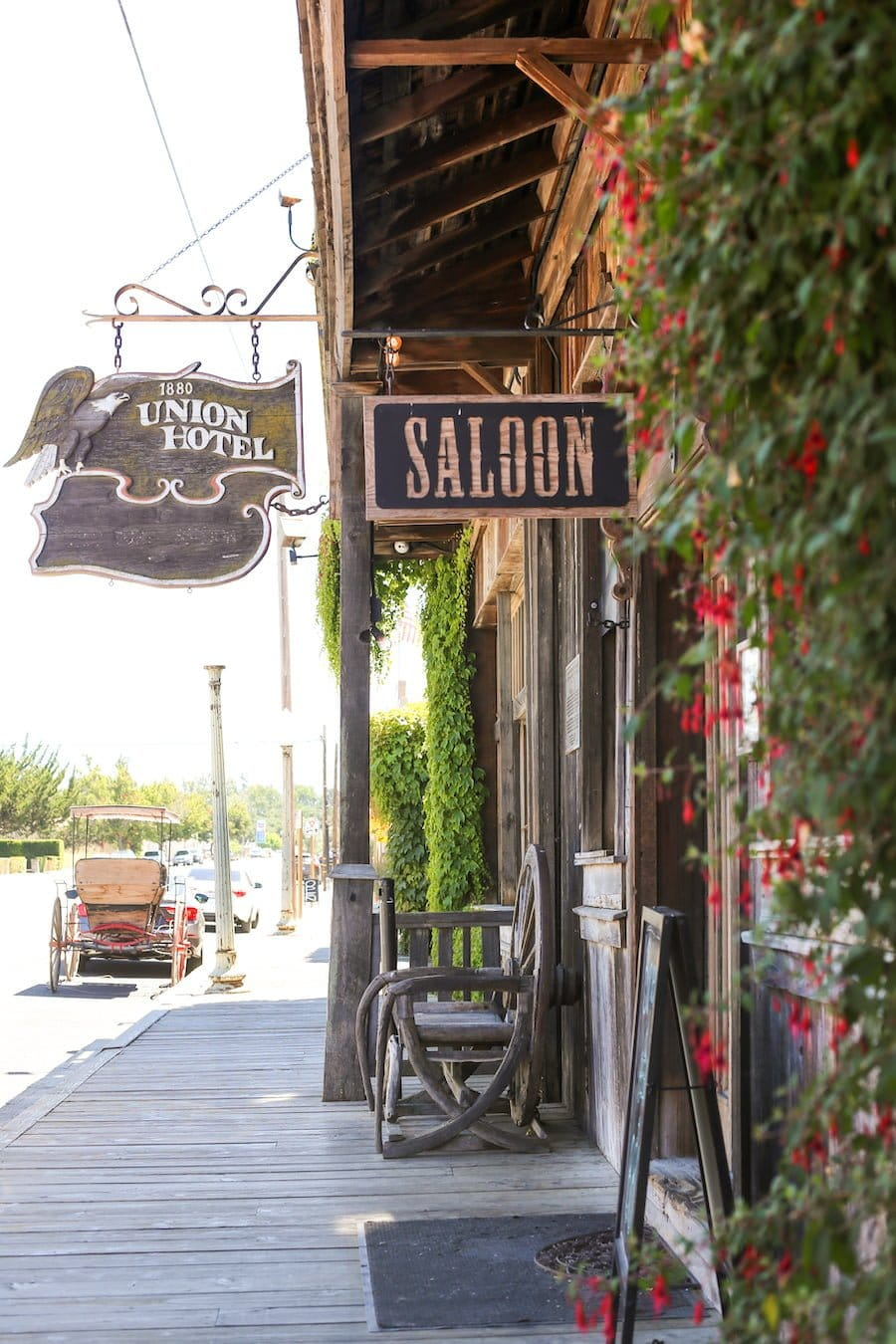 Union Hotel & Saloon in Los Alamos, California // Salty Canary
