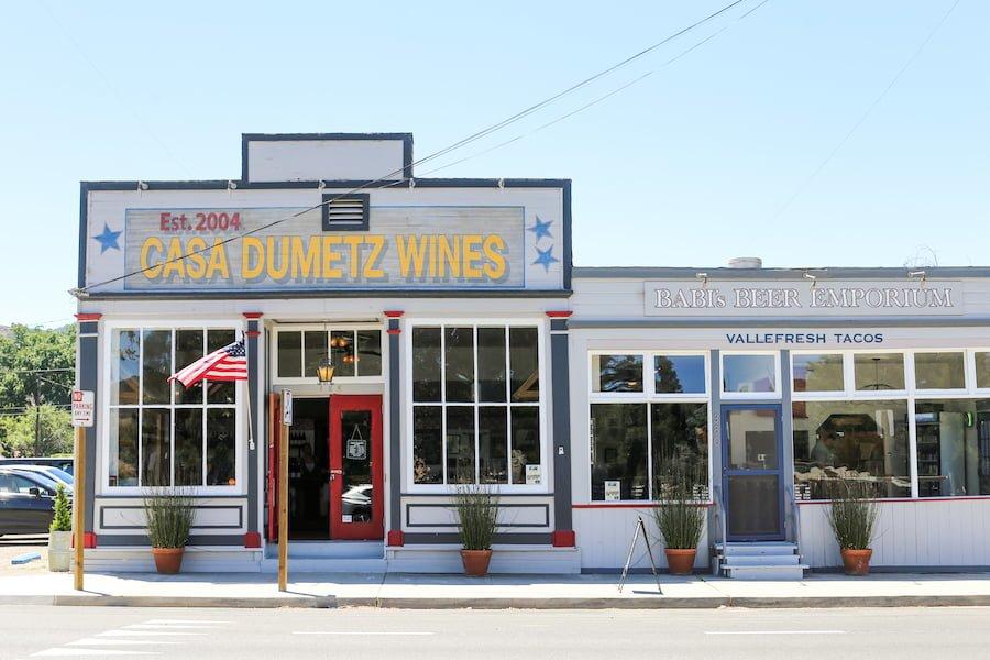 Casa Dumetz and Babi's Beer Emporium in Los Alamos, California // Salty Canary