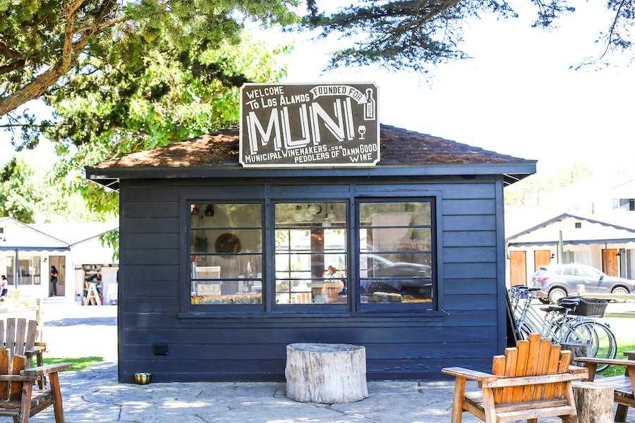 Muni Winemakers in Los Alamos, California // Salty Canary