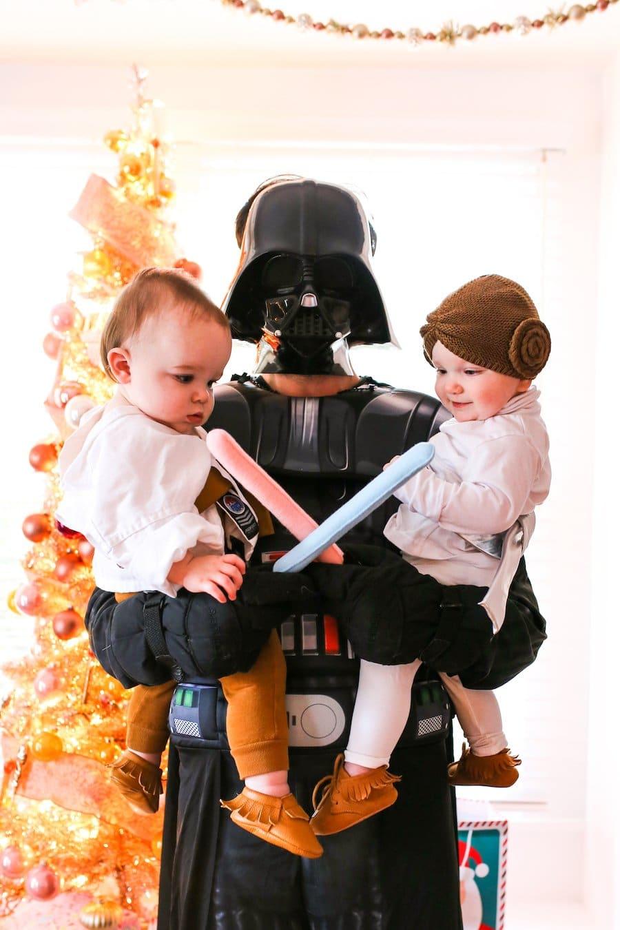 Twin Baby Luke Amp Leia Halloween Costumes