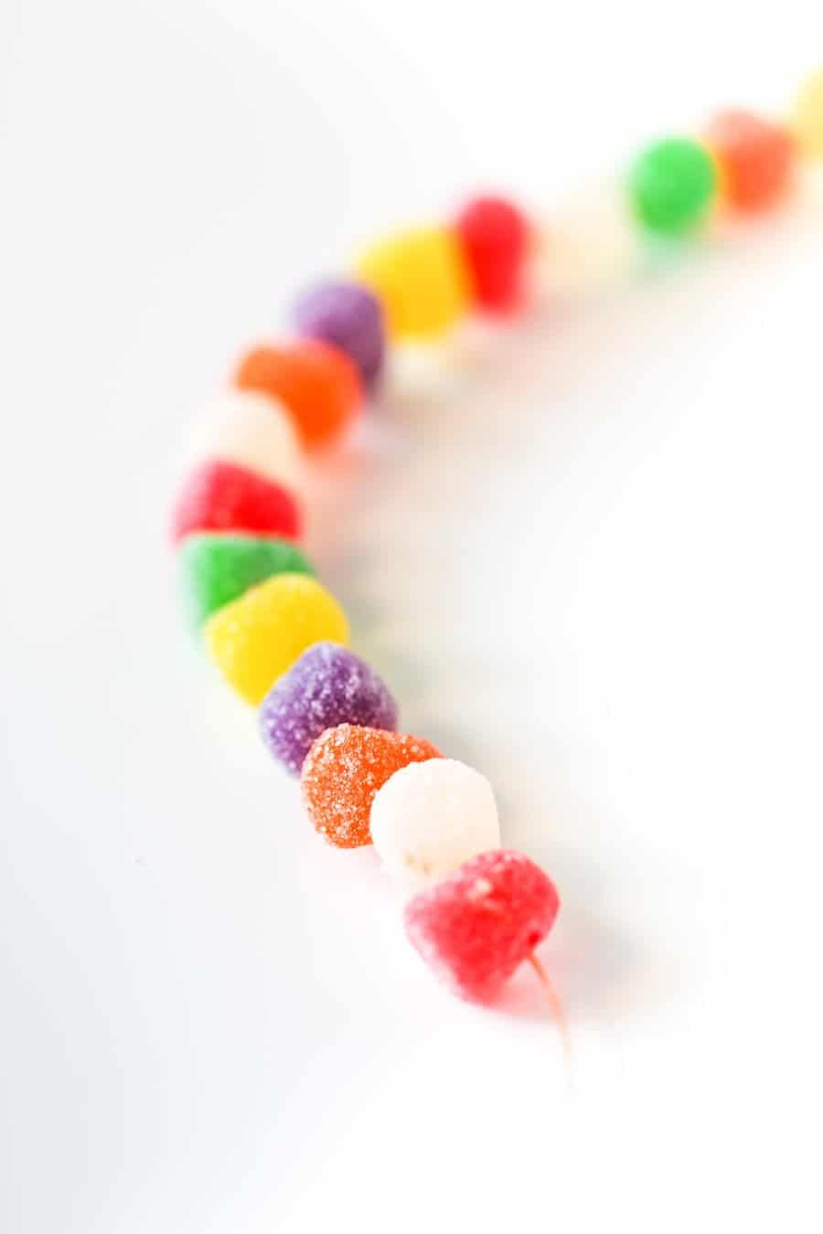 DIY Gumdrop Candy Garland // Salty Canary