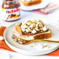 Nutella S'mores Toast