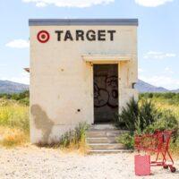 Tiny Target in Marfa, Texas