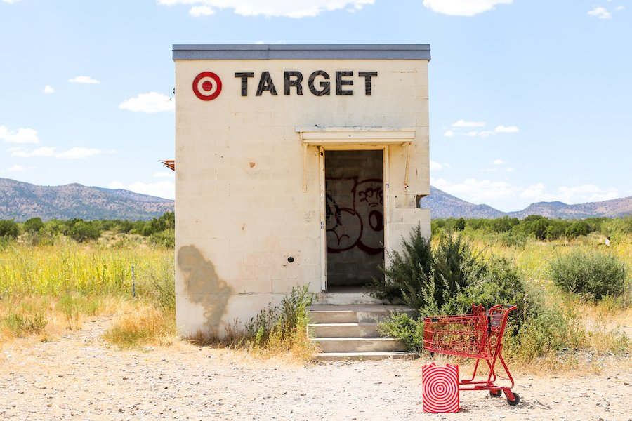 Tiny Target in Marfa, Texas – Salty Canary