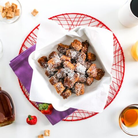 Cinnamon Toast Crunch French Toast Bites