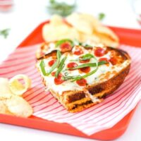Pizza Grilled Cheese Sandwich Recipe