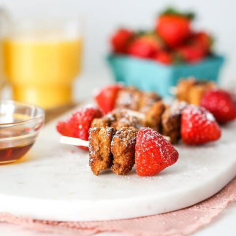 Strawberry French Toast Kabobs