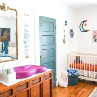 Nursery Nook in the Master Bedroom