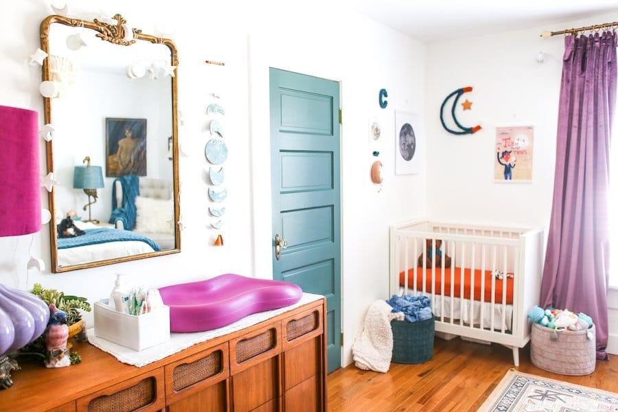 Nursery Nook In The Master Bedroom