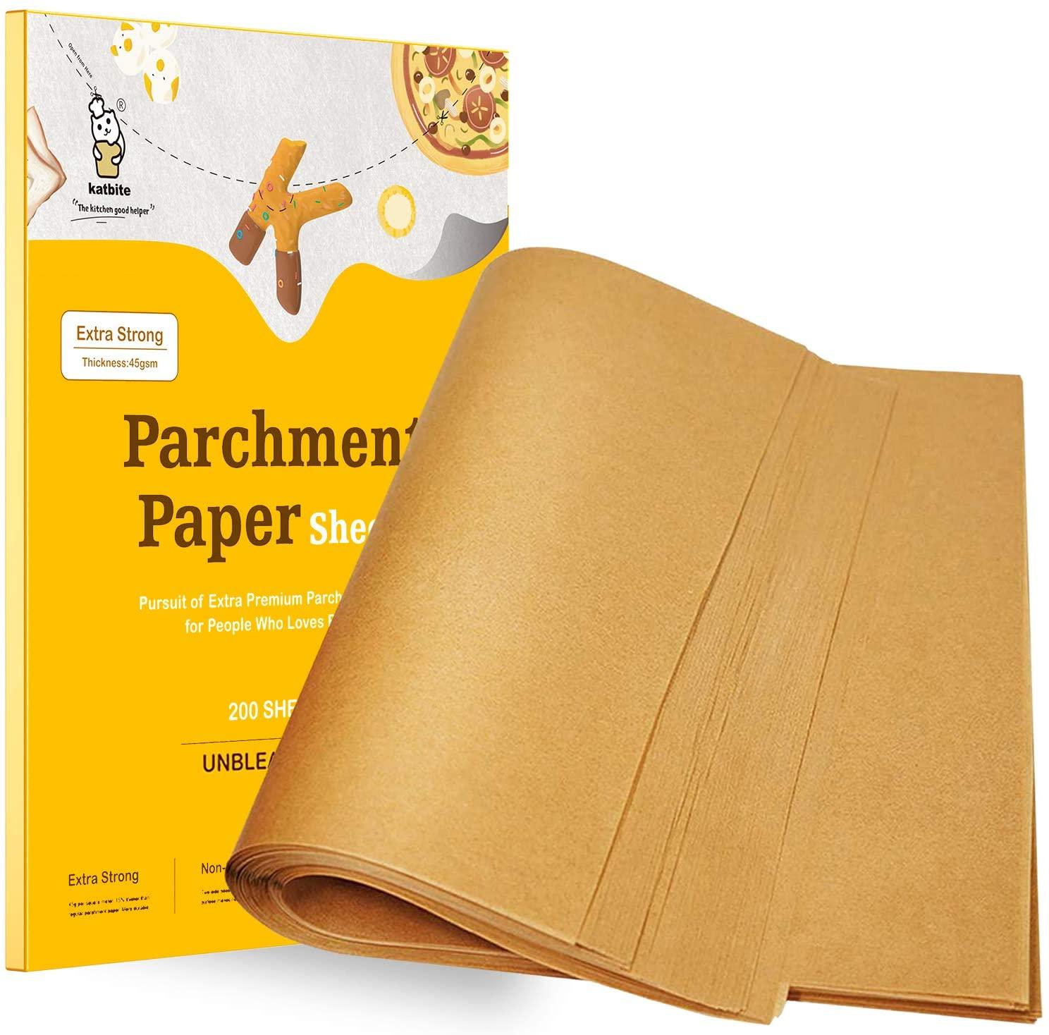 Unbleached Parchment Paper for Baking